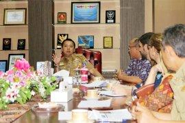 Komite Pengelola Perikanan Rajungan Temui Gubernur Lampung