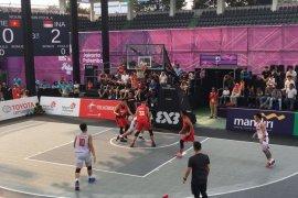Indonesia melangkah mulus di laga perdana basket 3x3