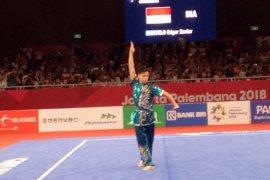 Atlet Wushu Edgar Marvelo persembahkan perak bagi Indonesia