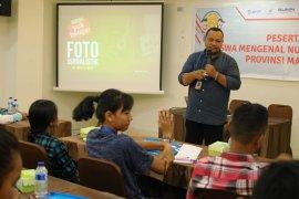 BUMN Hadir - siswa mengenal nusantara dibekali pengetahuan foto jurnalistik