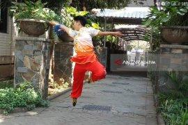 Mahasiswa Ubaya Sabet Tiga Medali Kejuaraan Wushu Dunia