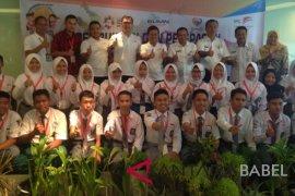 """BUMN Hadir - Siswa Bangka Belitung perkenalkan tradisi """"nganggung"""" di Palu"""