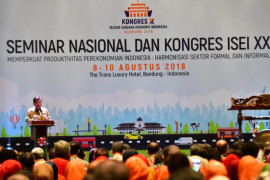 Wapres minta ISEI dorong pertumbuhan ekonomi Indonesia