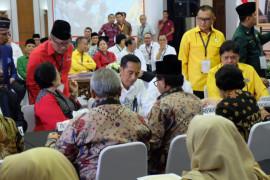Jokowi ucapkan selamat atas pencalonan Prabowo-Sandiaga