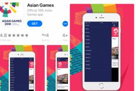 """Aplikasi """"Asian Games"""" sajikan momen pertandingan lebih rinci"""