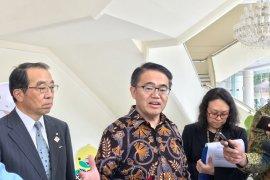 Wapres dikunjungi  Gubernur Aichi Hideaki Omura