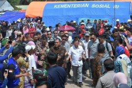 Wapres: Pemerintah sanggup atasi gempa Lombok