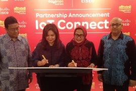 Indosat Ooredoo-Cisco kerja sama IoT