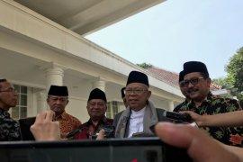 Ma'ruf Amin sebut ketua tim kampanye pemenangan masih dipertimbangkan