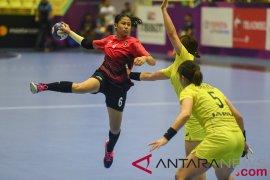Timnas bola tangan putri indonesia siap tantang Korea Utara