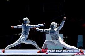 Anggar - Indonesia  terhenti di perempat final sabel beregu putri