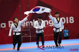 Korea raih juara umum taekwondo