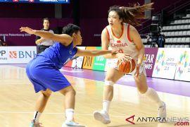 Penyisihan basket putri, China bukukan kemenangan telak atas Thailand