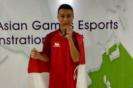 Indonesia dapat medali emas pertama dari eSports Asian Games
