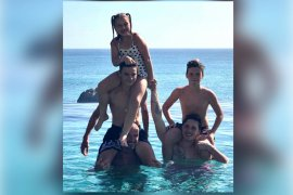 David Beckham dan keluarga tinggalkan Sumba