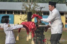 BUMN Hadir - PTPN-masyarakat  peringati HUT kemerdekaan di perkebunan
