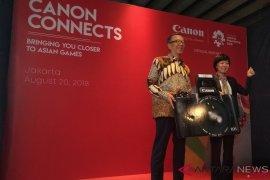 Gerai hiburan Canon tersedia di Asian Games 2018