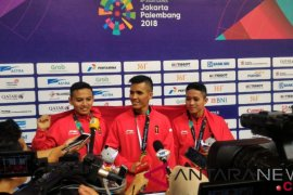 Regu silat putra Indonesia rebut emas