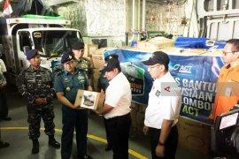 FFI Salurkan 20.000 Kotak Susu Cair untuk Korban Gempa Lombok