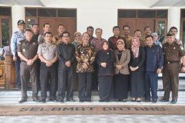 Forkominda pasaman pelajari pengelolaan stabilitas Kabupaten Bogor