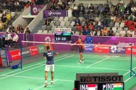 Tim putra Indonesia melaju ke semifinal beregu