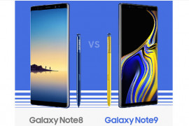 Beda Samsung Galaxy Note8 vs Note9