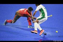 Tim hoki Pakistan dan Malaysia lolos penyisihan grup B