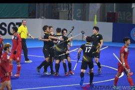 Tim hoki Jepang dan India lolos penyisihan Grup A