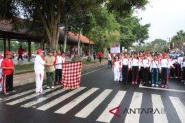 Lomba Gerak Jalan 8 Km awali peringatan HUT Ke-73 RI di Klungkung