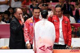 Presiden Jokowi apresiasi raihan emas dari wushu