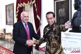 Kunjungn Ketua Komite Olimpic Palestina