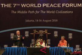 Forum Perdamaian Dunia berkomitmen mengarusutamakan Jalan Tengah