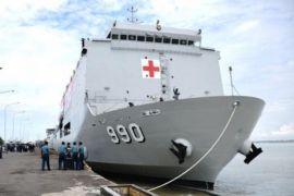 TNI berangkatkan kapal rumah sakit ke Lombok