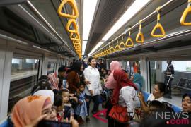 LRT Palembang dinilai sesuai harapan