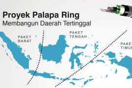 Jokowi hopes Palapa Ring to boost trade, bureaucracy, public services
