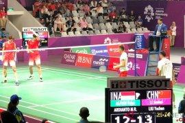 Kalahkan juara dunia, ganda putra Indonesia lolos ke final