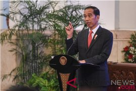 Perwira TNI-Polri temui Presiden