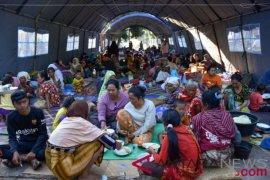 Korban gempa Lombok mengungsi ke Buleleng