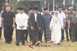 Presiden Shalat Idul Adha di Cibinong
