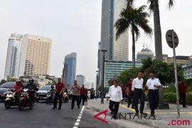 Kemarin, Presiden blusukan jalur trotoar hingga KPU bakal panggil Parpol