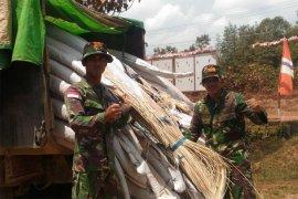 TNI foils rattan smuggling to Malaysia