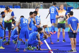 Menang adu penalti, timnas hoki Malaysia ke final
