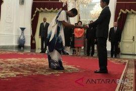 Presiden Jokowi terima surat kepercayaan dubes 8 negara