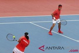 Tenis ganda putra Indonesia di Asian Games habis