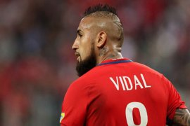 Bersama Barcelona, Vidal mau menangi segalanya