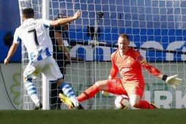 Bagi Suarez laga kontra Sociedad buktikan ketatnya Liga Spanyol