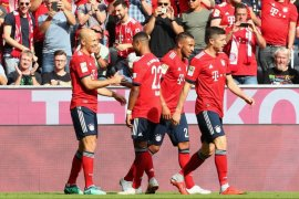 Muenchen bangkit dari ketertinggalan, bekuk Leverkusen 3-1
