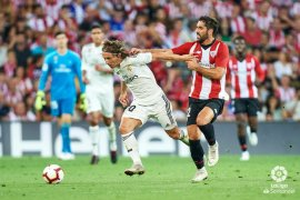 Madrid ditahan imbang Bilbao 1-1