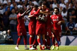 Buang banyak peluang, Liverpool tetap menang 2-1 atas Tottenham