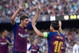 Hasil dan klasemen Grup B, Barcelona-Inter awali dengan tiga poin